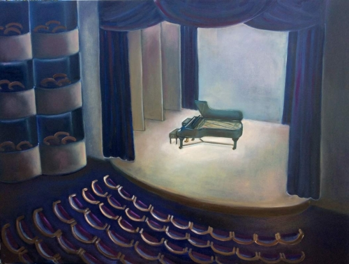 "Before the Concert - 2 - 30"" x 40"""