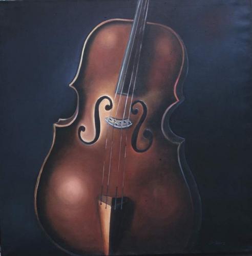 """Cello 49"""" x 49"""""""