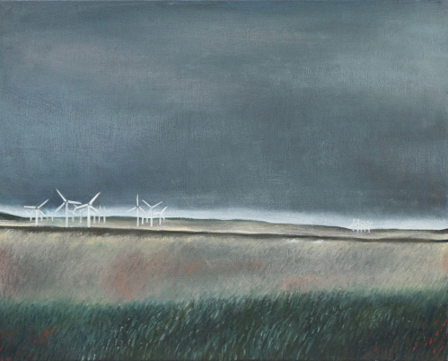"The Long Windy Road 1 -  16"" x 20"""
