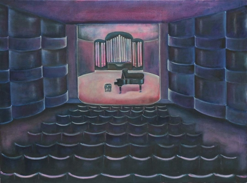 "Before the Concert -1 - 30"" x 40"""